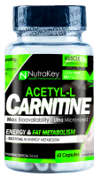 NutraKey Acetyl L-Carnitine 60caps